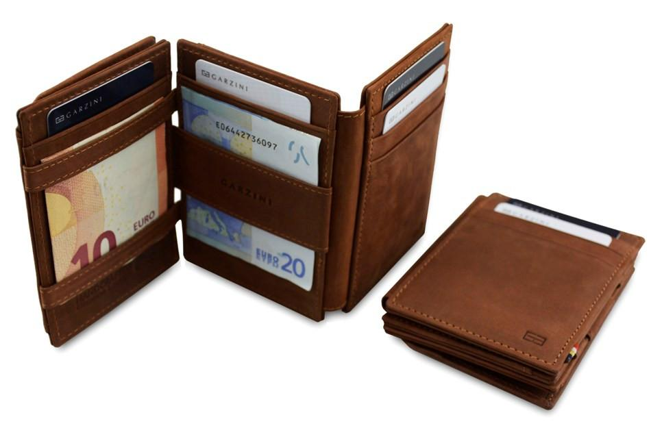 Garzini Magistrale Pezzini RFID Java Brown