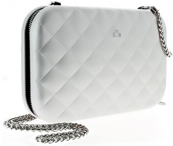 Ögon Quilted Lady Bag Silber