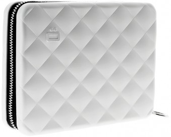 Ögon Quilted Passport Silber