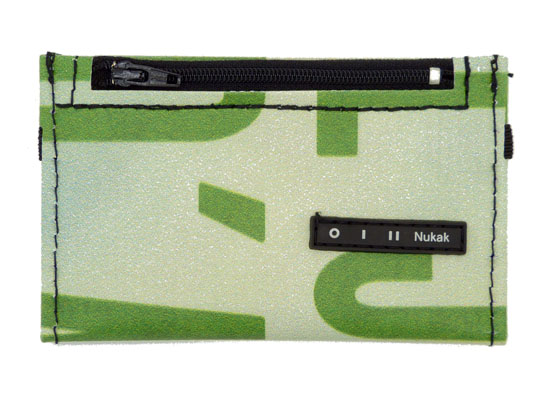 Nukak Slim Wallet Green