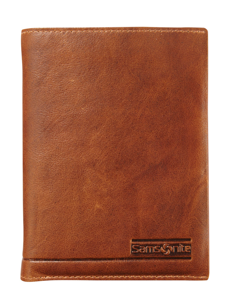 Samsonite Slant Brieftasche 9 Cards Tan