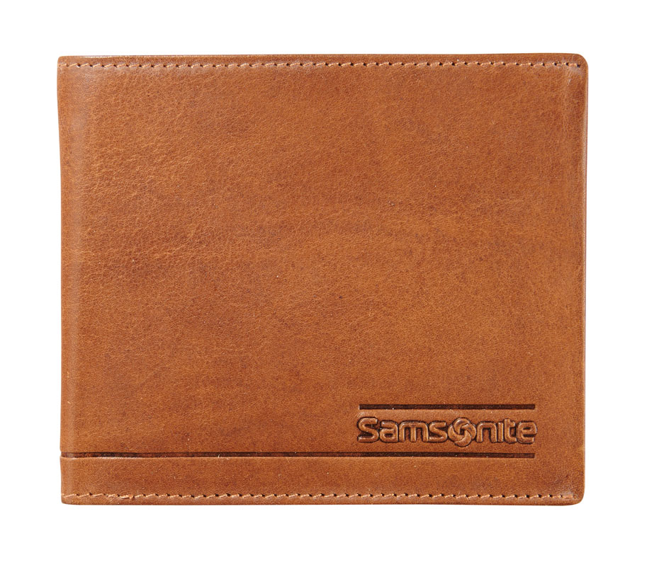 Samsonite Slant Small Brieftasche 3 Cards Tan